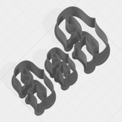 Download 3D printing files Letter G Collection Cookie Cutter, mandrakecr