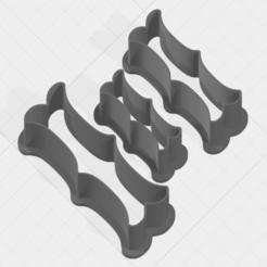 I SCK 5-7-9cm.png Télécharger fichier STL Coupe-biscuits de la collection Lettre I • Plan imprimable en 3D, mandrakecr