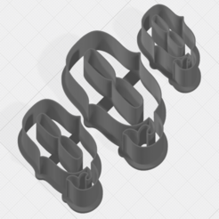 Download 3D printing models Letter Q Collection Cookie Cutter, mandrakecr
