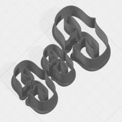 Télécharger fichier STL Coupe-biscuits lettre C • Modèle imprimable en 3D, mandrakecr