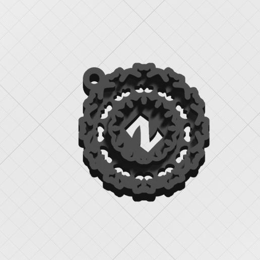 """Télécharger fichier STL Pendentif """"Lettre magique Z • Modèle imprimable en 3D, mandrakecr"""