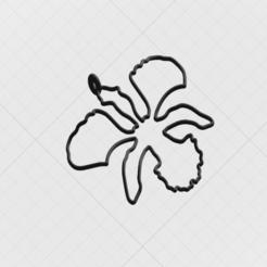 Télécharger fichier STL Pendentif Orchidée sauvage du Brunxu • Modèle pour impression 3D, mandrakecr