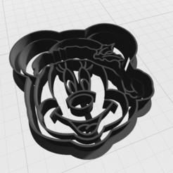 navidad minnie 7cm.png Télécharger fichier STL Coupeuse de biscuits Minnie Mouse • Modèle pour imprimante 3D, mandrakecr