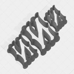 N SCK 5-7-9cm.png Télécharger fichier STL Coupe-biscuits de la collection Lettre N • Objet à imprimer en 3D, mandrakecr