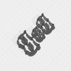 B SCK 5-7-9cm.png Télécharger fichier STL Coupe-biscuits lettre B • Modèle pour imprimante 3D, mandrakecr