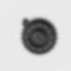Télécharger fichier STL Pendentif Magic Letter O • Objet pour imprimante 3D, mandrakecr