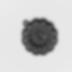 """Télécharger fichier 3D Pendentif """"Lettre magique B, mandrakecr"""
