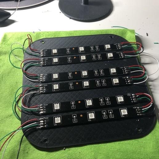 img_05.jpeg Télécharger fichier STL gratuit ADKS - Lampe de table multicolore Bluetooth • Design pour imprimante 3D, Adarkstudio