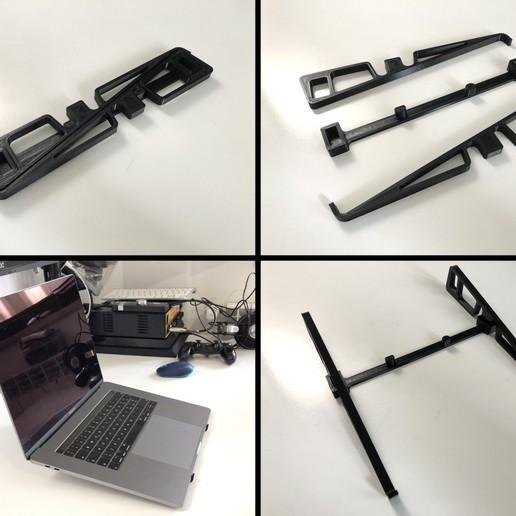 Télécharger plan imprimante 3D gatuit Prise en charge facile des ordinateurs portables, Adarkstudio