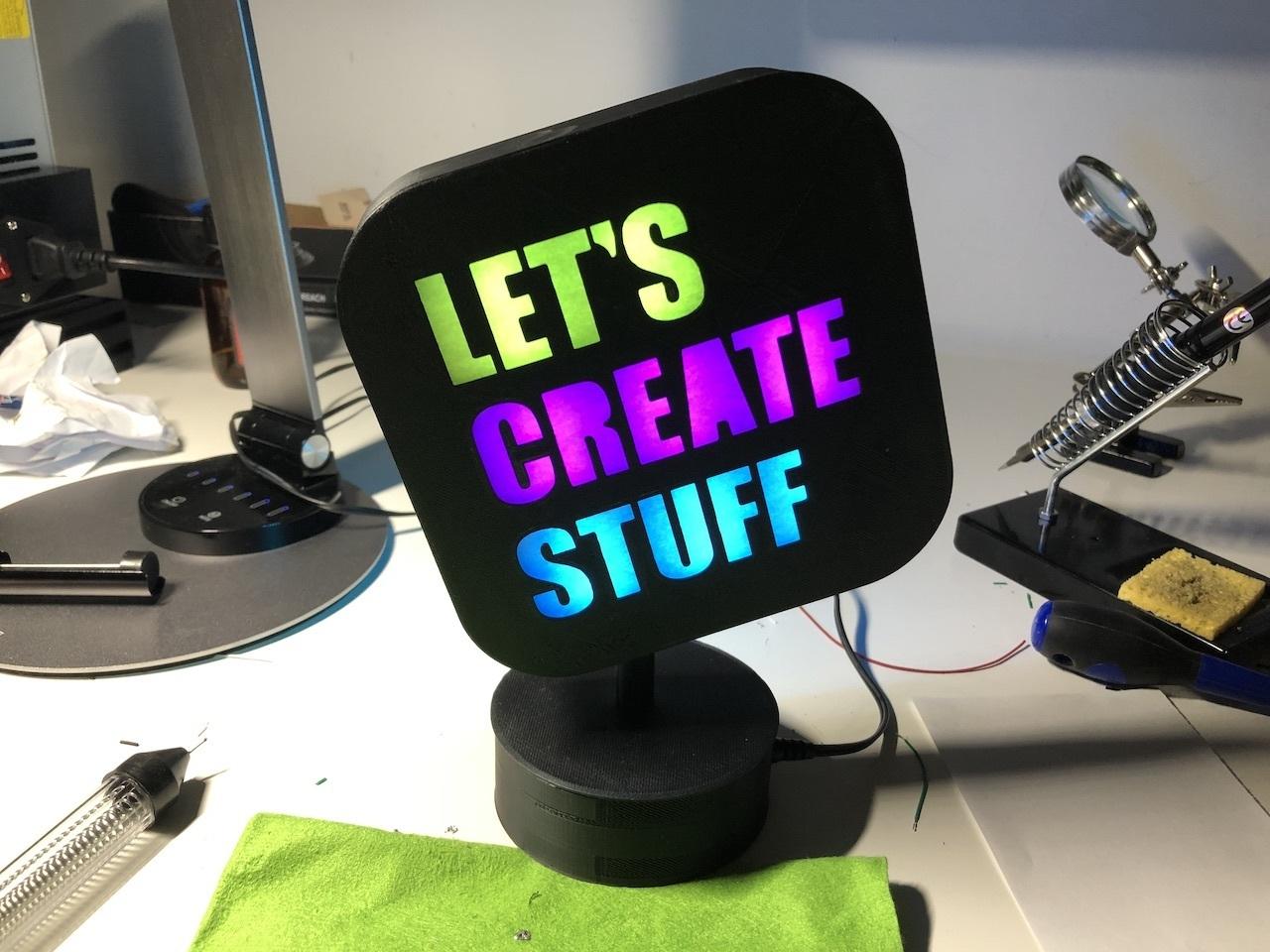 img_12.jpeg Télécharger fichier STL gratuit ADKS - Lampe de table multicolore Bluetooth • Design pour imprimante 3D, Adarkstudio