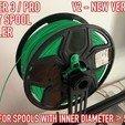 Télécharger modèle 3D gratuit Ender 3 / Pro - Porte-bobines / Rouleau, Adarkstudio