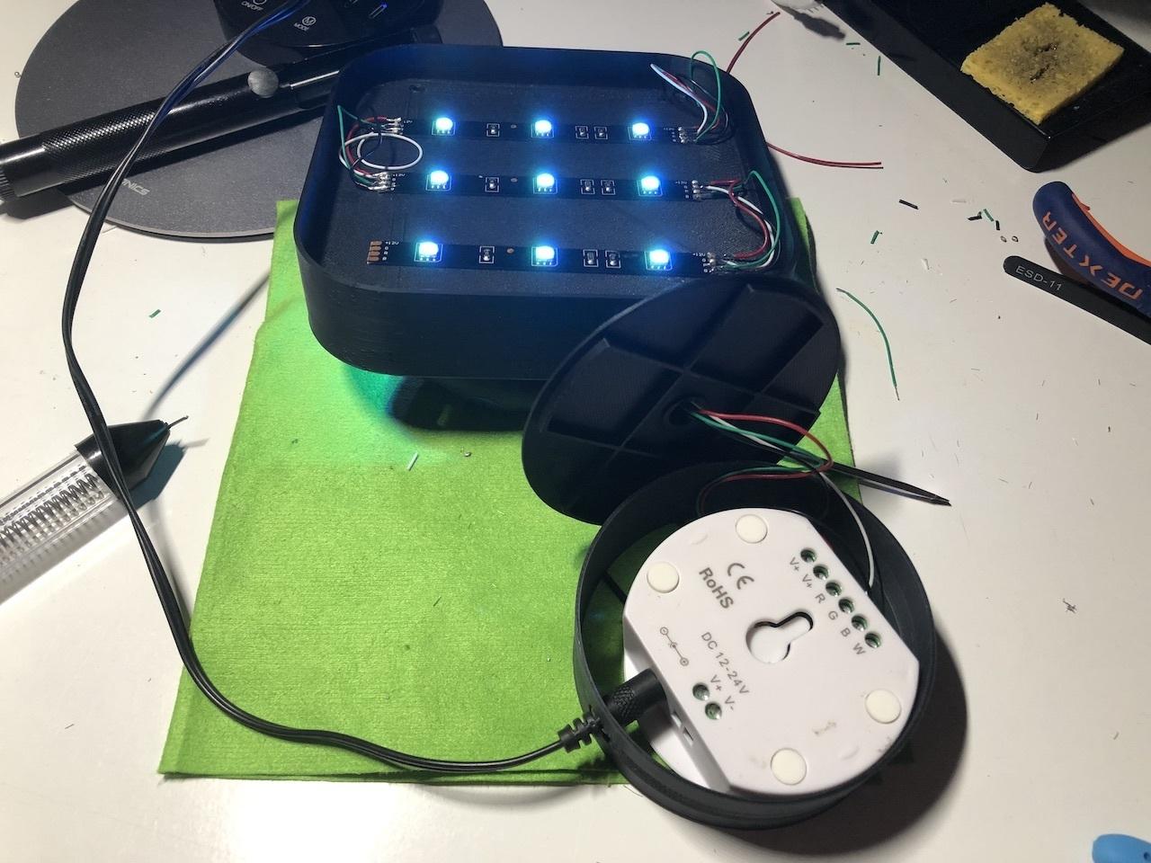 img_09.jpeg Télécharger fichier STL gratuit ADKS - Lampe de table multicolore Bluetooth • Design pour imprimante 3D, Adarkstudio