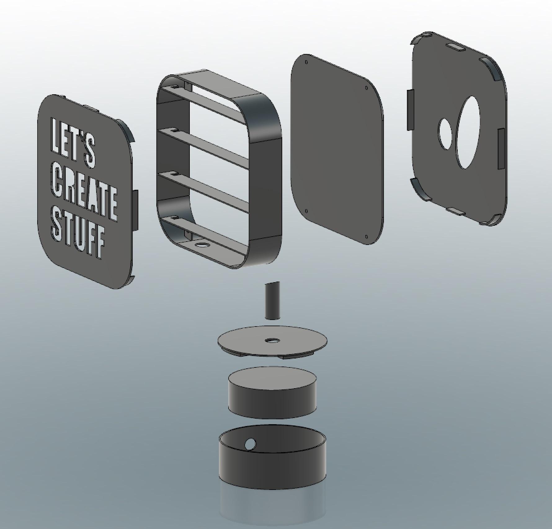 img_13.jpg Télécharger fichier STL gratuit ADKS - Lampe de table multicolore Bluetooth • Design pour imprimante 3D, Adarkstudio