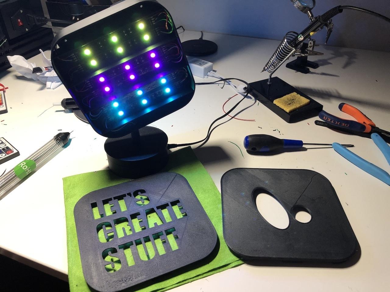 img_10.jpeg Télécharger fichier STL gratuit ADKS - Lampe de table multicolore Bluetooth • Design pour imprimante 3D, Adarkstudio