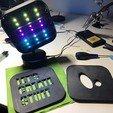 Télécharger objet 3D gratuit Lampe de table multicolore Bluetooth, Adarkstudio