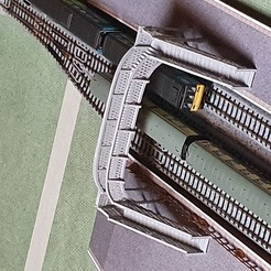 Descargar archivos 3D Asentar el puente ferroviario Ancho N, malcolmhill46