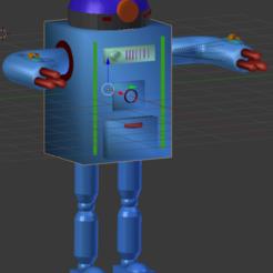 Descargar STL ROBOT PERSONALIZAR 3D, sebastonepicard