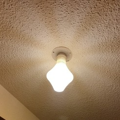 lampe-2.jpg Download STL file BREKJM Design ceiling lamp • 3D printable object, BREKJM