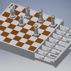Download 3D printing files BREKJM design table chess game for 3D printing, BREKJM