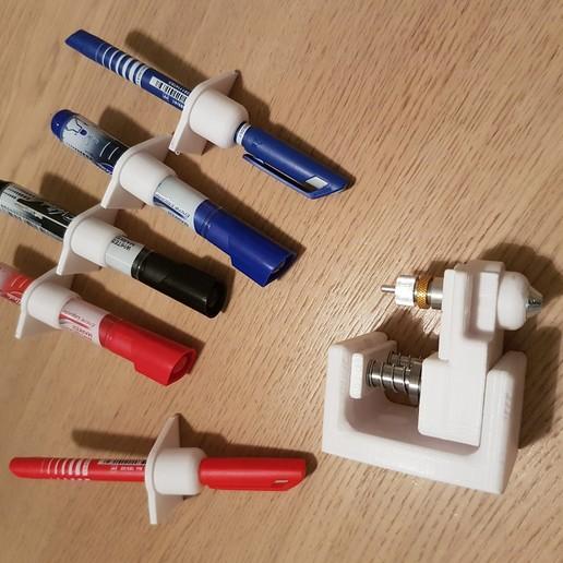 Download free 3D printing templates CNC Plotter, iamjorgensen
