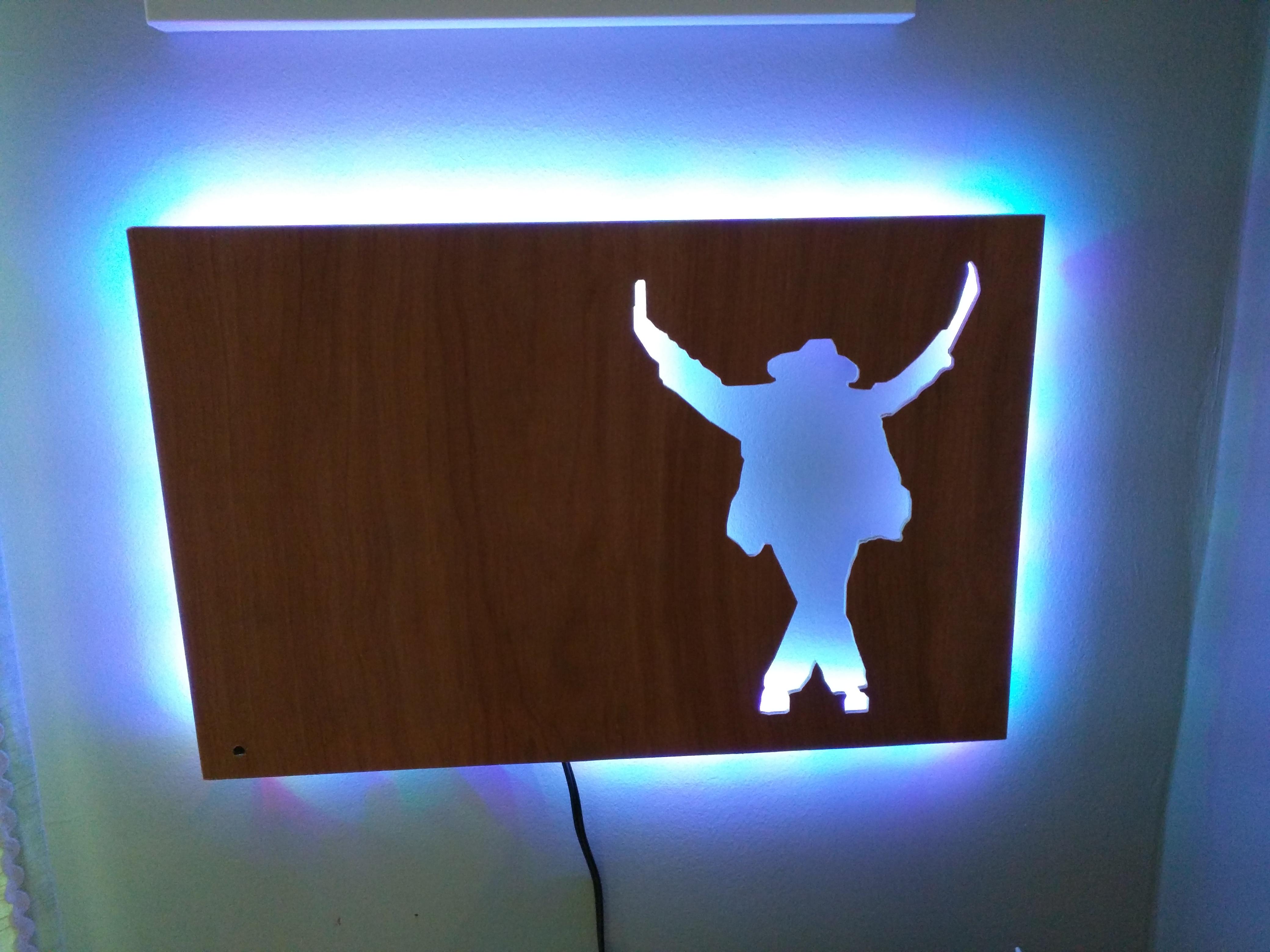 mj1.jpg Download free STL file Michael Jackson plywood lamp • 3D printable design, iamjorgensen