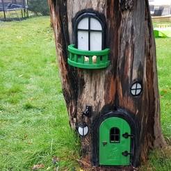 Descargar modelo 3D gratis Casa de Hadas del Jardín, iamjorgensen