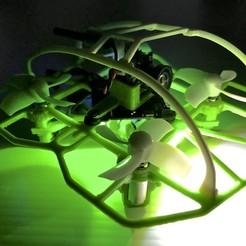 Télécharger fichier impression 3D gratuit Speddy 65mm. Cadre pour 7mm. Moteurs, PaulDrones