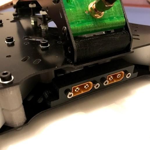 Télécharger fichier impression 3D gratuit Pièces de classe X, double boîte XT60, PaulDrones