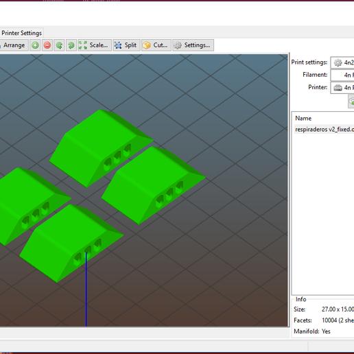 respiraderos1.PNG Télécharger fichier OBJ gratuit Antivaho/Defogger pour casque d'écoute FPV • Design à imprimer en 3D, PaulDrones