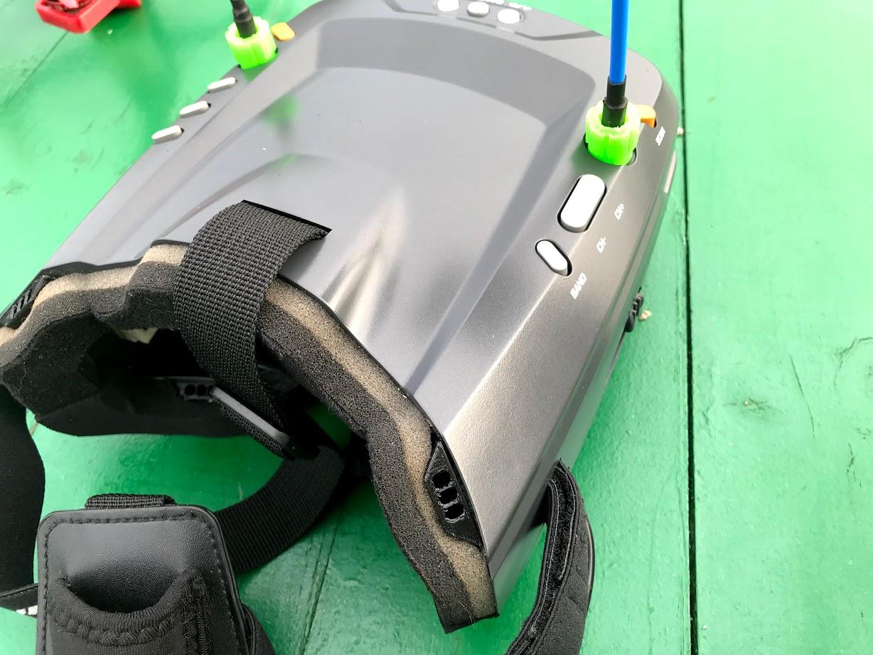 vista_superior.jpg Télécharger fichier OBJ gratuit Antivaho/Defogger pour casque d'écoute FPV • Design à imprimer en 3D, PaulDrones