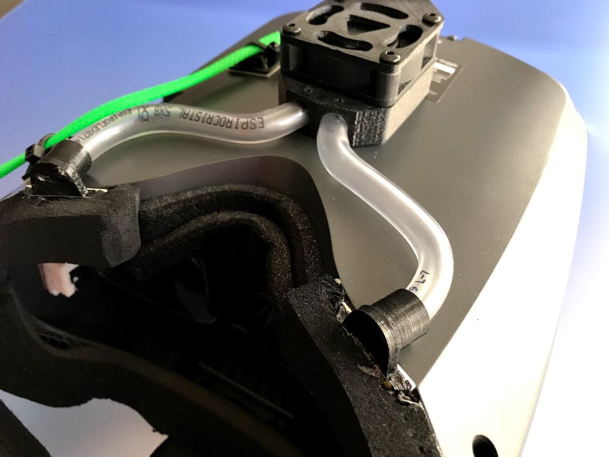 """IMG_5861.jpg Télécharger fichier OBJ gratuit Ventilateur pour casque antibuée """"Ventilador Antivaho"""". • Modèle à imprimer en 3D, PaulDrones"""