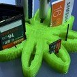 "Download free 3D printing templates USB Organizer 3 in 1 ""Daisy Flower"" (Margarita), PaulDrones"