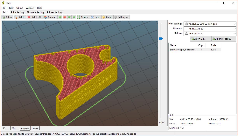 20_infill.PNG Download free OBJ file Soporte protector para modulo TX Crossfire (Horus 10) • 3D print design, PaulDrones