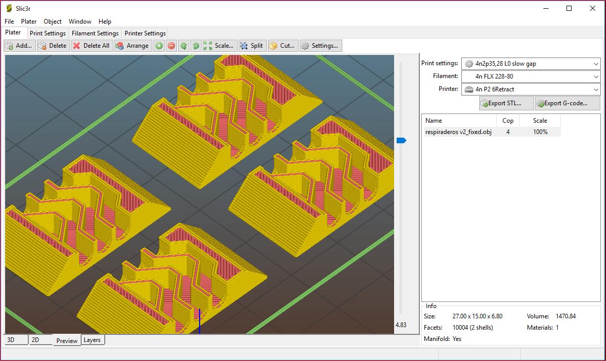 respiraderos2.PNG Télécharger fichier OBJ gratuit Antivaho/Defogger pour casque d'écoute FPV • Design à imprimer en 3D, PaulDrones