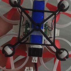 IMG_3701.JPG Descargar archivo OBJ gratis Endurecedor para chasis tipo Tiny whoop 65mm. y motores de 6mm. • Plan para la impresión en 3D, PaulDrones