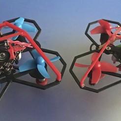 1.jpg Télécharger fichier STL gratuit Cadre de bourdon 65mm • Design imprimable en 3D, PaulDrones
