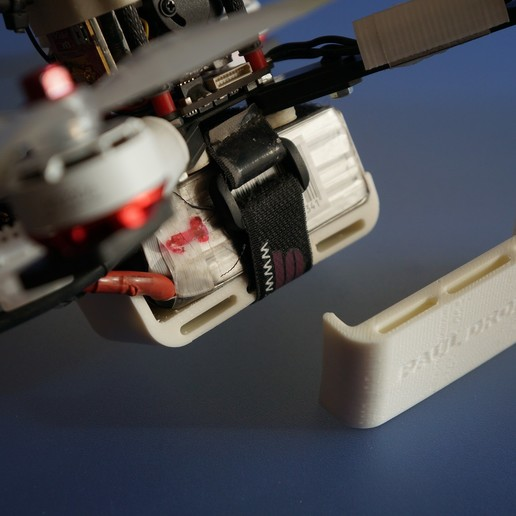 DSC03687.JPG Download free OBJ file Protector lipo 1300/1500 dron • 3D print template, PaulDrones