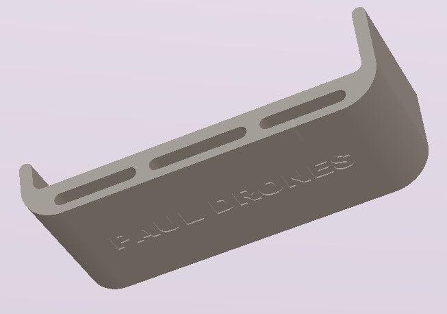 Protector_Batería_1300.jpg Download free OBJ file Protector lipo 1300/1500 dron • 3D print template, PaulDrones