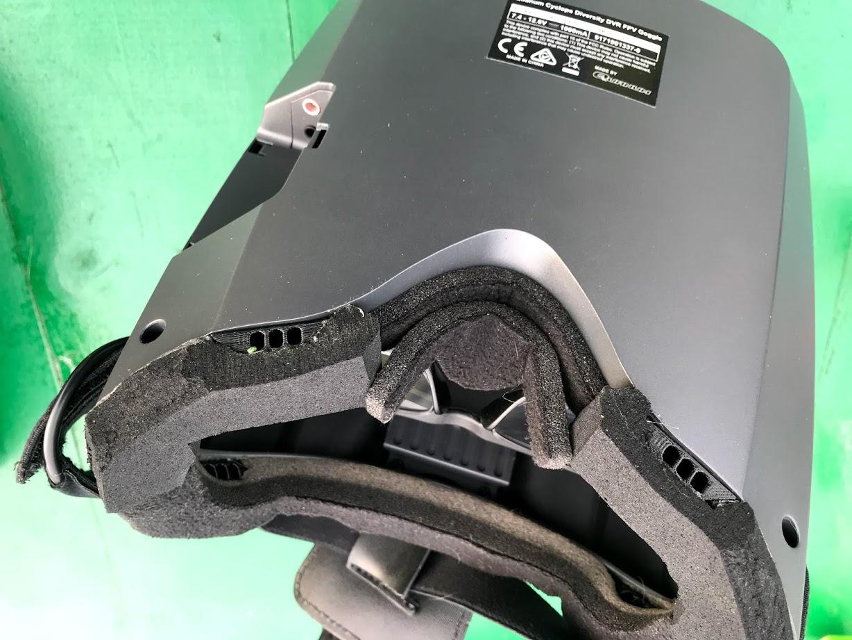 vista_inferior.jpg Télécharger fichier OBJ gratuit Antivaho/Defogger pour casque d'écoute FPV • Design à imprimer en 3D, PaulDrones