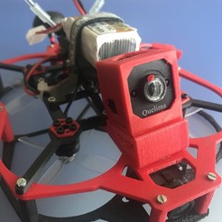 Download free 3D printing files Camara protection for Quelima Camera (Flex-TPU), PaulDrones