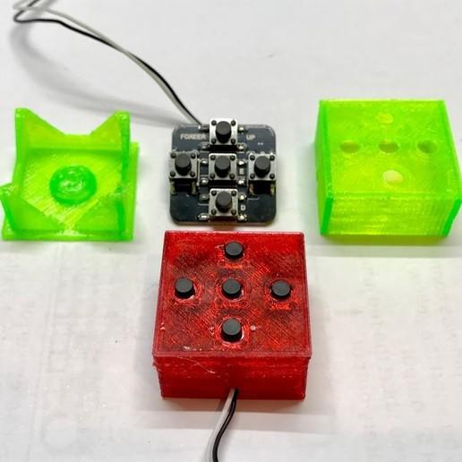 IMG_5925.jpg Download free OBJ file Foxeer swich board case • 3D printing design, PaulDrones