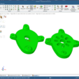 Download free OBJ file LIDL Bancada motor posterior con ángulo ajustable. • 3D printing object, PaulDrones