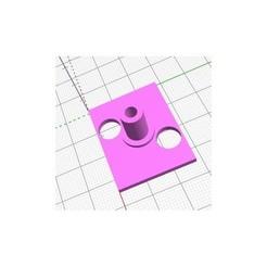 Pied pont tournant Peco LK-55.jpg Download STL file Foot with axle for Peco LK-55 swivel bridge • Design to 3D print, gbouchetdefareins