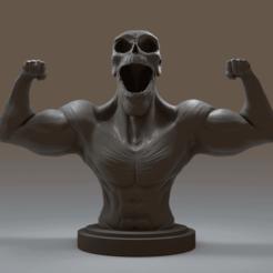 1.png Télécharger fichier OBJ Conditionnement physique du squelette • Plan à imprimer en 3D, Leppe
