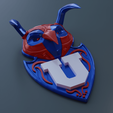 Download 3D printer designs U of Chile 3D logo, Leppe