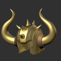 Untitled.png Download STL file HI-DEF - Helmet Saint Seiya Taurus - Tauro Aldebaran (cheap ver.) • 3D printing model, danielign15