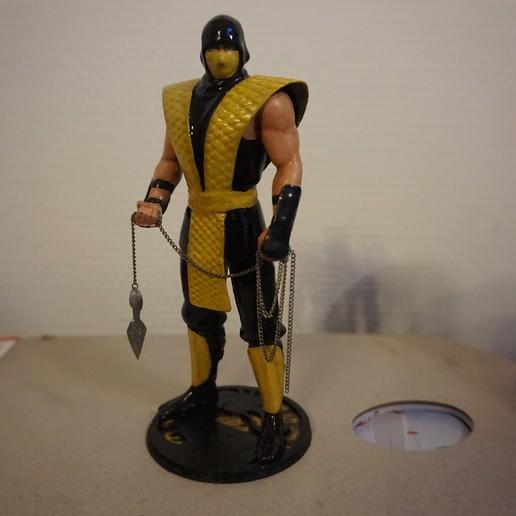 Download STL file MK classic scorpion statue, Tronic3100