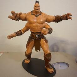 Télécharger objet 3D Statue MK X Goro, Tronic3100