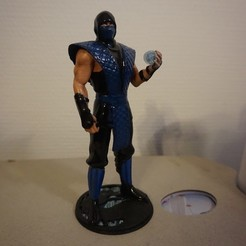 subz101.JPG Download STL file MK classicsub-zero statue • Object to 3D print, Tronic3100