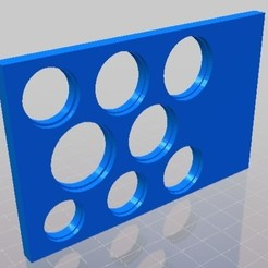 Euro Grundplatte.jpg Télécharger fichier STL Euro Grundplatte • Design pour imprimante 3D, balisto019